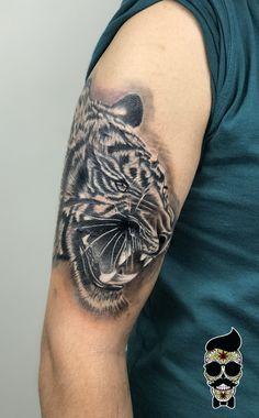 Tiger tattoo , kaplan dövmesi
