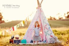 This handmade teepee from Renee Hindman Photography is SO precious + inspiring! Read all about it on the Reverie Blog! http://reveriemine.com/swoonable-showcase-renee-hindman/