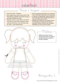 Érica Catarina - Apostila Bonequinhas - pg. 15