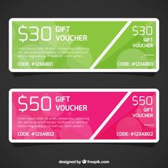 Gift Voucher Template Free Download Colorful Stationery Design Free Vector  Graphics  Pinterest .