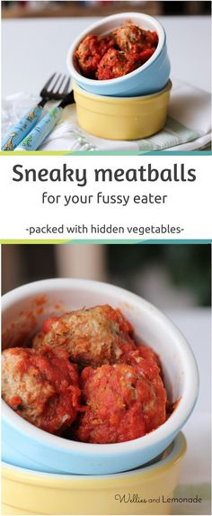 meatballs for fussy eaters