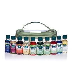 Kneipp Collection of 10 Herbal Baths: A zip-tote packed with 10 all-natural herbal bath treatments: Lavender, Eucalyptus, Pure Bliss, Rosemary, Melissa, Warm Embrace, Valerian & Hops, Arnica Joint & Muscle Rescue, Juniper and Sensual Seduction.