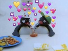 Pingu is lucky to have a lover dont @ me 🤧 100 Memes, Love Memes, Funny Memes, Funny Pins, Pingu Pingu, Pingu Memes, Winnie The Poo, Laffy Taffy, Wallpaper Stickers