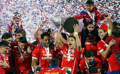 ... century drought with a penalty shoot-out victory over Argentina in front of a sea of red in Santiago on Saturday to claim their first ever Copa America.
