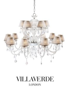 Opera Crystal Chandelier Traditional, MidCentury Modern, Glass, Crystal, Chandelier by Villaverde London Empire Chandelier, Ceiling Chandelier, Modern Chandelier, Ceiling Lights, Chandeliers, Luxury Lighting, Home Lighting, Lighting Design, Louis Xvi