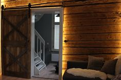 Barndoor, reclaimed wood,