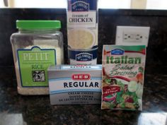 My Beautiful, Crazy Life: Crockpot Chicken & Rice [Recipe] Chicken And Rice Crockpot, Chicken Rice Recipes, Crockpot Dishes, Crock Pot Soup, Crock Pot Cooking, Chicken Soup, Slow Cooker Recipes, Crockpot Recipes, Delicious Recipes