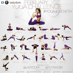It's been a while. I really like the layout of this one. @jesikarae_yoga ? @femmeferal @cupcakeroxy @tranquilbunny? Ladies?! #Repost @ladydork with @repostapp  Hi guys!  we have another  #Yoga4Growth challenge coming for you in February. Tag your Friends and Repost  @KoyaWebb and Myself would like to continue helping you getting started with your yoga journey.  We will focus on working up to 4 of your favorite poses:  Week 1: King pigeon  Week 2: Crow pose  Week 3: Knee-To-Ear pose  Week 4…