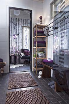 Sauna, Divider, Room, Furniture, Home Decor, Full Bath, Bathing, Bedroom, Decoration Home