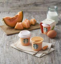 Korea Starbucks Melon Pudding http://tummyfriend.com/korea-starbucks-melon-pudding/ #starbucks #pudding #desserts #melon #tummyfriend #foodfilming #shanghai