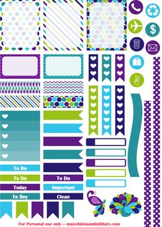 FREE purple peacock printable planner stickers for September Erin Condren Life Planner pinned by ∙⋞ ✦ Karen of CraftedColour ✦ ⋟∙ To Do Planner, Free Planner, Planner Pages, Happy Planner, Erin Condren Life Planner, Planner Ideas, Filofax, Planer Organisation, Fun Craft