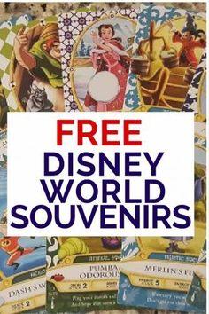 Free Disney Souvenirs