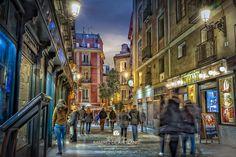 Amazing Photography, Street View, Travel, Image, Urban Landscape, Lanterns, Street, Scenery, Architecture