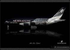 Air New Zealand / Airbus A380 / Livery concept