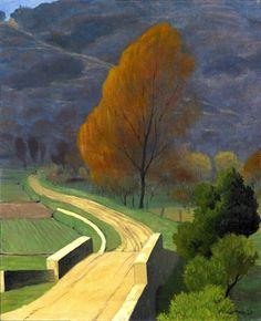 Félix Vallotton - Pont sur le Béal, 1922