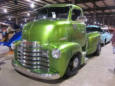 my first choice would be Danny Koker's on Counting Cars but I'd surely sport this one around!  1947 Chevy COE Pickup by splattergraphics, via Flickr