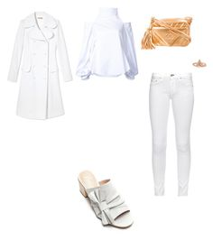 """""""Untitled #3531"""" by anamaria-zgimbau ❤ liked on Polyvore featuring Chanel, Michael Kors, Christopher Esber, rag & bone, Nanette Lepore and Lucky Brand"""