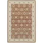 Basile Brown 9 ft. 10 in. x 12 ft. 9 in. Area Rug