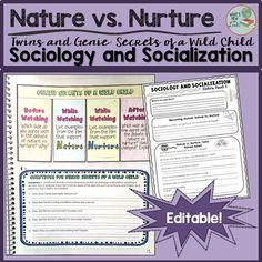 Nature Vs Nurture Sociology Quizlet