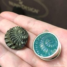 Sculpted Relief Resin Mold in an Open Bezel | AllFreeJewelryMaking.com