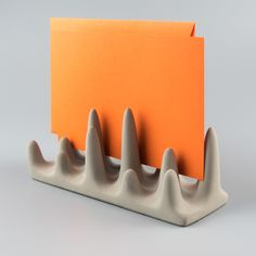 The letter holder made from code and concrete