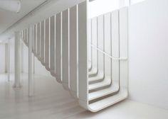 La scala galleggiante di Zaha Adid
