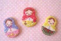 Matryoshka cookies ¥ 420