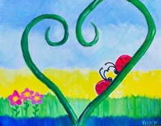 Step by step to your own Masterpiece with Paint Along Paint Party, Birds, Painting, Painting Art, Bird, Paintings, Painted Canvas, Drawings