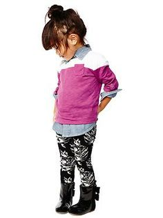 Baby Clothing: Toddler Girl Clothing: Featured Outfits New Arrivals | Gap. This whole little outfit!!!