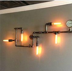 lampadari stile industriale da parete : ... da Fornitori stile industriale retro lampada da parete loft annata bar