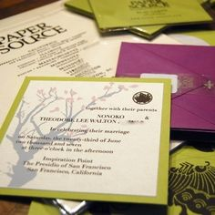Tips to making your own invitations
