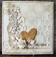 cards made using tim holtz mixed media dies Handmade Birthday Cards, Greeting Cards Handmade, Mixed Media Cards, Shabby Chic Cards, Butterfly Cards, Love Cards, Vintage Cards, Vintage Handmade Cards, Paper Cards