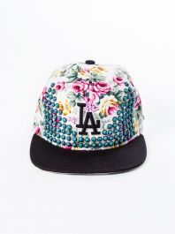 Floral Turquoise LA Snapback by Been Here Before - ShopKitson.com af7cb956b632