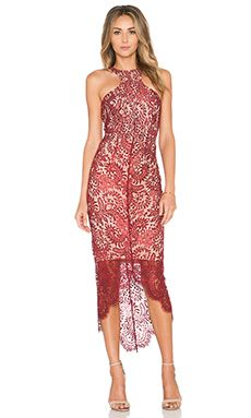 Elle Zeitoune Sage Dress in Wine = $423.10 (revolve)