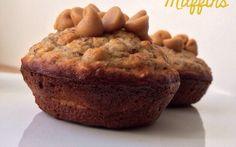 Recipes - Peanut Butter Chocolate Banana Muffins