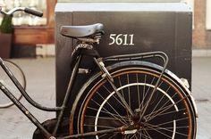 Old bike in Harleem