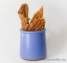 Homemade Chicken Dog Treats - My dogs would love it if I made these for them.