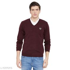Checkout this latest Sweaters Product Name: *kvetoo Men Wool Blend Full Sleeve V Neck Casual Winter Wear Sweater* Fabric: Wool Sleeve Length: Long Sleeves Pattern: Solid Multipack: 1 Sizes: S, M (Chest Size: 38 in, Length Size: 23 in, Waist Size: 40 in, Hip Size: 40 in)  Country of Origin: India Easy Returns Available In Case Of Any Issue   Catalog Rating: ★4 (326)  Catalog Name: Trendy Glamorous Men Sweaters CatalogID_1982414 C70-SC1208 Code: 424-10770719-069