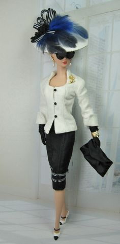 Raffinés for  Silkstone Barbie and Victoire by MatisseFashions, $87.91