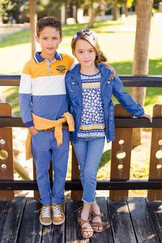 Moda Infantil. The Country Look