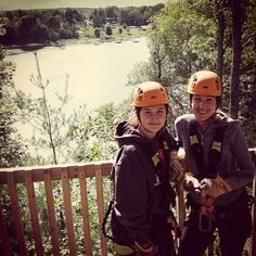 Wanted to go all summer and made it happen today) logoslandresort ziplining