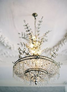 ZsaZsa Bellagio: Home Sweet Home by elvira☆☆☆ Antique Chandelier, Chandelier Lighting, Crystal Chandeliers, Bubble Chandelier, French Chandelier, Chandelier Ideas, Beaded Chandelier, Antique Lamps, Ivy House