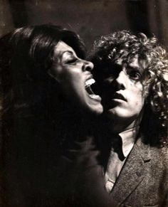 Tina Turner (The Acid Queen) & Roger Daltrey in TOMMY  1975