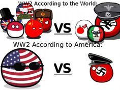 It seems like it's what they get taught in school :/ <<< Not really, I'm American and I'm fully aware of the other countries involved. We just have highly inflated egos and would like to think we won it on our own (not me personally but apparently the people you know.)