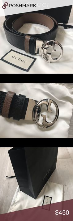 d789910972d0 Authentic Gucci Reversible GG Belt New with tag. Comes with paper bag and  dust bag. Made in Italy . Purchased from italy 🇮🇹 Gucci Accessories Belts