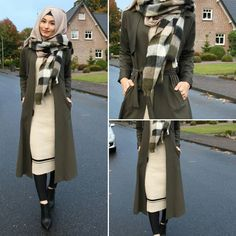 Rhizlane hijab Hijab Wear, Casual Hijab Outfit, Hijab Chic, Hijab Dress, Hajib Fashion, Modest Fashion, Fashion Outfits, Korean Fashion, Muslim Women Fashion