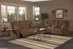 Item specifics     Condition:        New: A brand-new, unused, unopened, undamaged item in its original packaging (where packaging is    ... - #Furniture https://lastreviews.net/home/furniture/2-piece-recliner-sofa-set-cocoa-brown-fabric-sofa-loveseat-living-room-furniture/