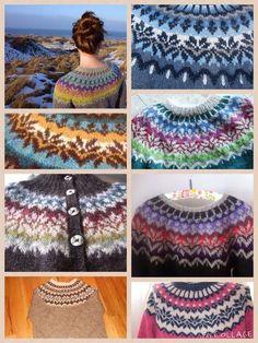 DUTCH KNITTY . BREIEN . LOL MET WOL: LOPI vest jas WINTERDREAM Fair Isle Knitting Patterns, Fair Isle Pattern, Knitting Charts, Knitting Designs, Free Knitting, Icelandic Sweaters, Lana, Knit Crochet, Textiles