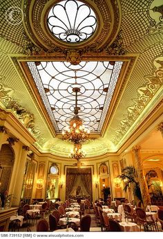 The Ritz | London | Inset Ceiling Details