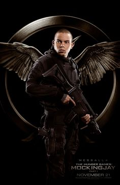 Meet the Rebels in These Awesome New Hunger Games: Mockingjay Posters: Messalla.  But where's the katniss one?!?!?